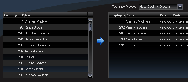 New TeamMember record created and inserted